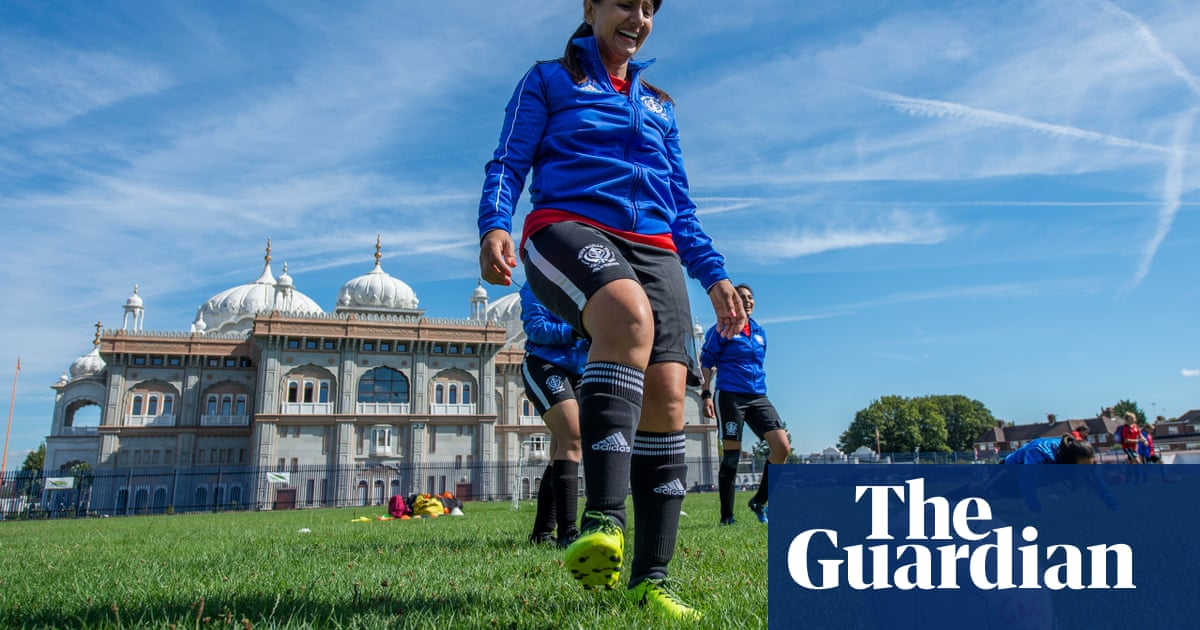 Women s football at a Sikh temple  Meet the pioneer who made it happen 88d1ee2acf13d