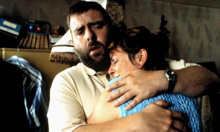 Timothy Spall and Brenda Blethyn in Secrets & Lies, 1996, directed by Mike Leigh.  Jon Gregory had the ability to convert ad hoc footage into pure cinematic poetry.