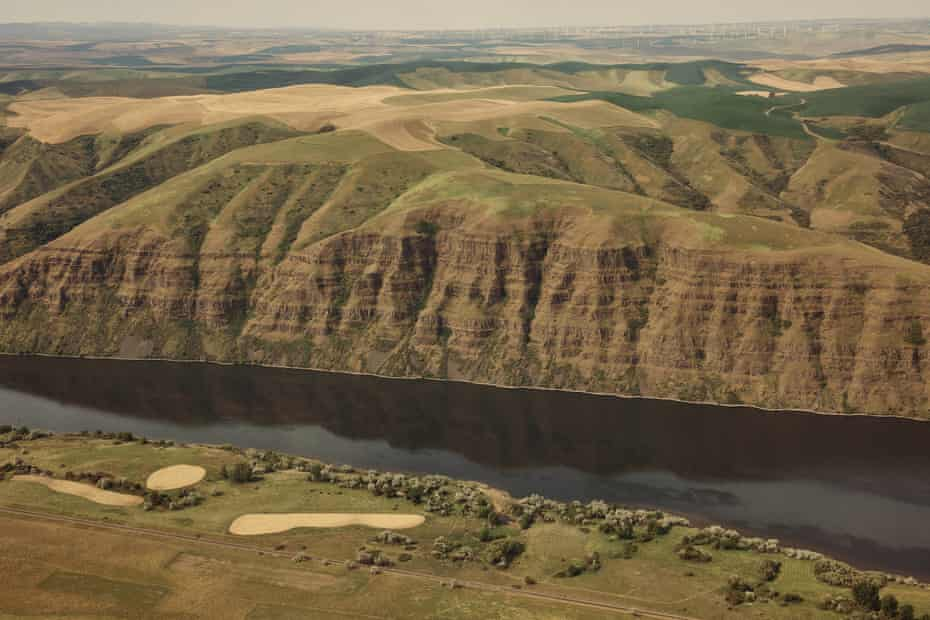 The Snake River seen near Clarkston, Washington on Monday, May 10, 2021. Rep. Mike Simpson, R-Idaho, has proposed breaching the Ice Harbor, Little Goose, Lower Granite, Lower Monumental dams along the Snake River to help save the endangered salmon runs.