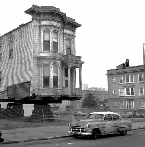 In the 1970s, 12 houses were moved from the city's Western Addition.