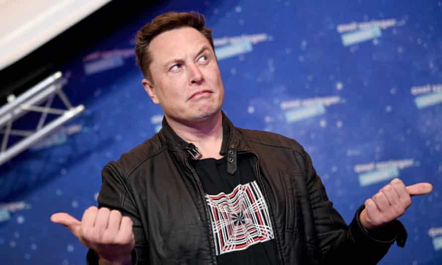 Elon Musk in Berlin, Germany.