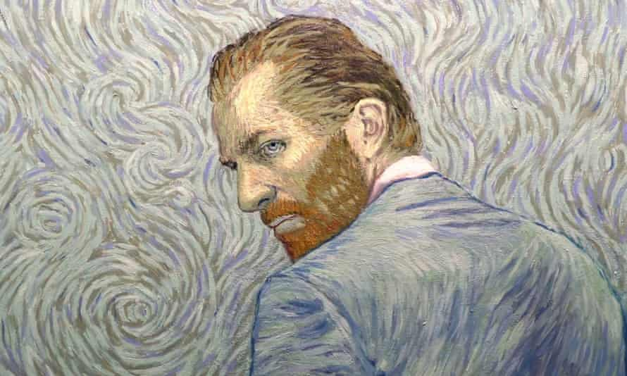 Vincent Van Gogh, as painted for the film Loving Vincent.