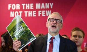 Jeremy Corbyn speaking in Southampton at the launch of Labour's document A New Plan for Nature.