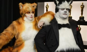 Rebel Wilson and James Corden at the Oscars.