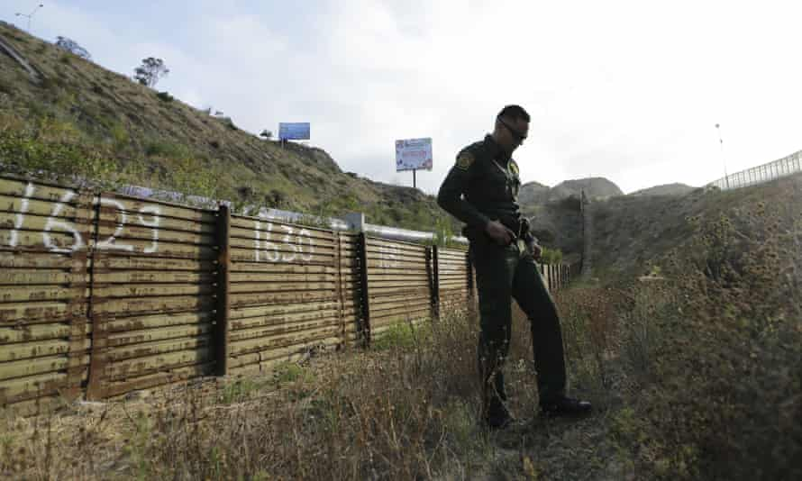 The order includes exemptions for government hires tasked with 'national security or public safety', meaning Trump can still add thousands of new positions at Border Patrol.