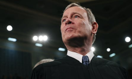 John Roberts, seen at the State of the Union address in February.