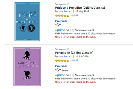 Jane Austen reviews