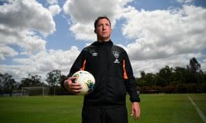 Brisbane Roar head coach Robbie Fowler