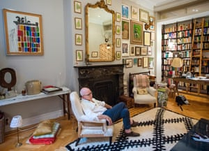 Michael Wolff at his home in New York City.