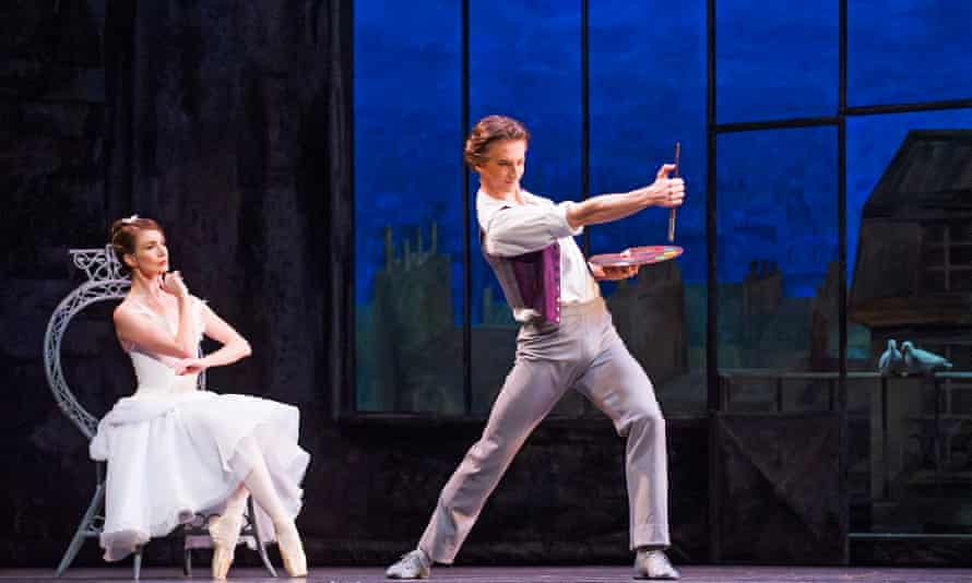 Masterfully in control of the technical challenges … Vadim Muntagirov and Lauren Cuthbertson in The Two Pigeons by The Royal Ballet.