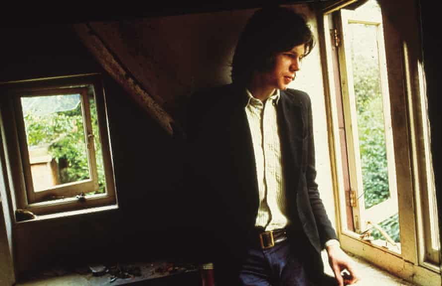 Nick Drake … the portrait became the cover of Five Leaves Left.