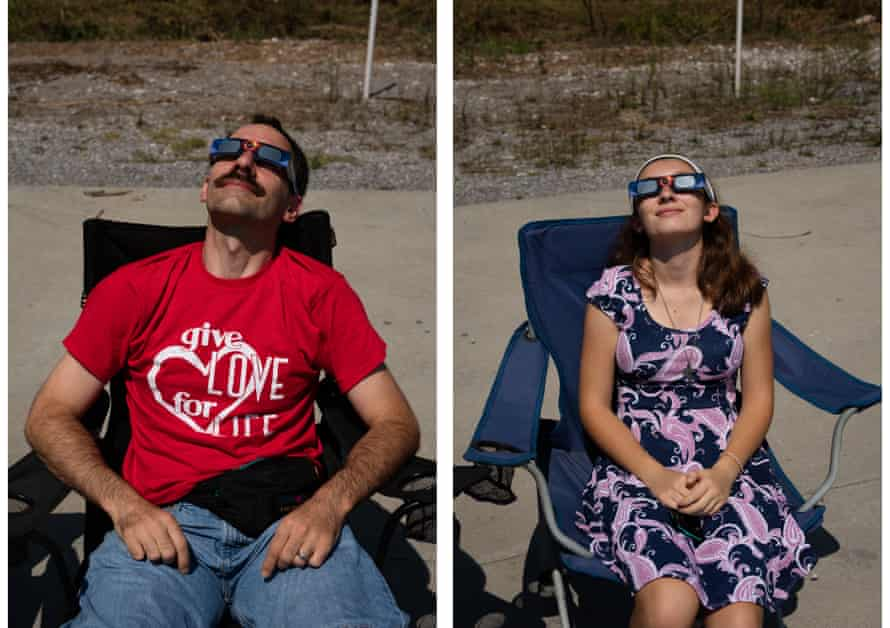 Shifts in perception …Tillmans' shot of last year's solar eclipse in the US, featured in his book What Is Different?