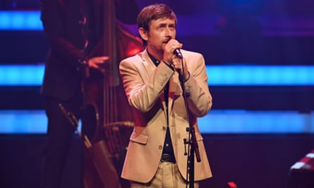 'Tremendously civilised': Neil Hannon at the Barbican.