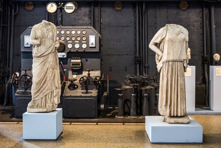 'It's not easy to get to' … classical sculpture meets industrial brutalism at Centrale Montemartini, Rome.