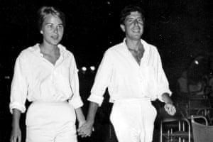 Ihlen and Cohen in Marianne & Leonard.