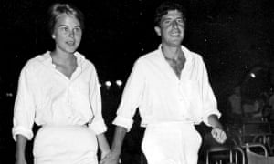 Leonard Cohen and Marianne Ihlen in an image from the film Marianne & Leonard: Words of Love