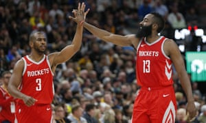 Chris Paul and James Harden are a formidable duo for the Rockets