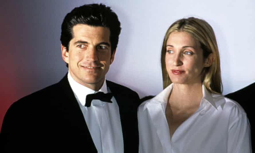 John F Kennedy Jr and Carolyn Bessette Kennedy in New York, March 1999. They died in a plane crash four months later.