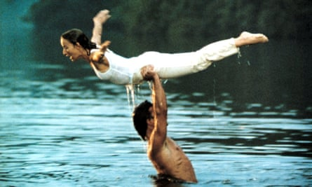 Jennifer Grey with the late Patrick Swayze in the 1987 film Dirty Dancing.