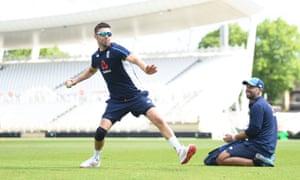 Mark Wood prepares for England's fourth ODI against Pakistan, at Trent Bridge on Friday.