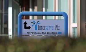 Interserve's share price fell by more than 10% on Monday.