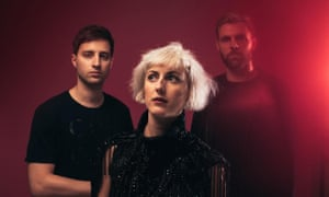 blythe pepino and the other two members of the pop band vaults