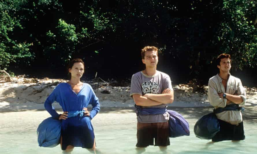 Image from The Beach, starring Leonardo DiCaprio