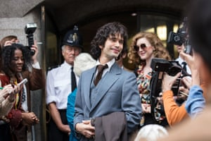 Norman Scott (Ben Whishaw) has his day in court  in A Very English Scandal: 'simply, a triumph'.