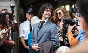 Ben Whishaw in A Very English Scandal, nominated for best supporting actor in a limited series or TV movie.