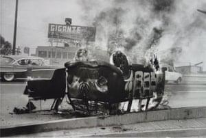 Mexico City (VW burning), 1951