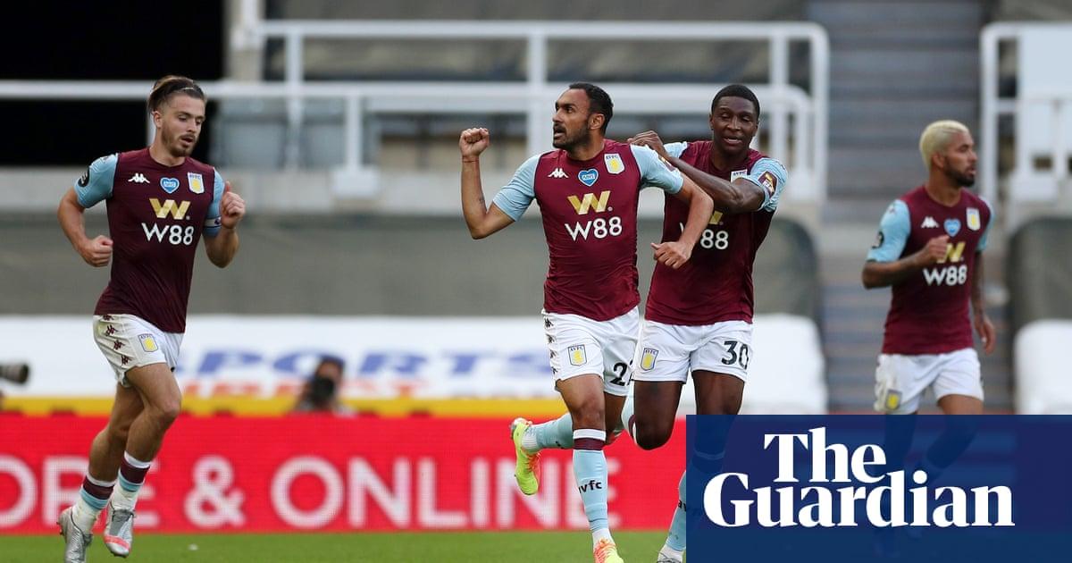 Aston Villas Elmohamady heads in to salvage precious draw at Newcastle