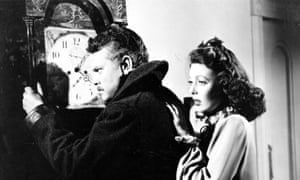Underrated … The Stranger, 1946, with Welles and Loretta Young, pictured