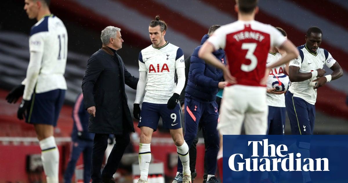 José Mourinho accuses Tottenham players of 'hiding' against Arsenal