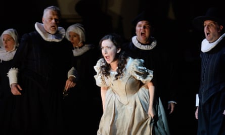 Dramatic sense ... I Puritani, one of our operatic highlights of the year from Welsh National Opera.