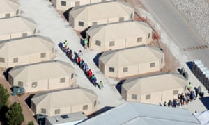 Detention camp for migrant youth, Tornillo, Texas