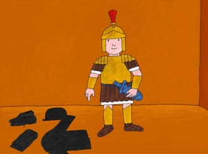 Mr Benn tries on a gladiator costume and is transported to ancient Rome.