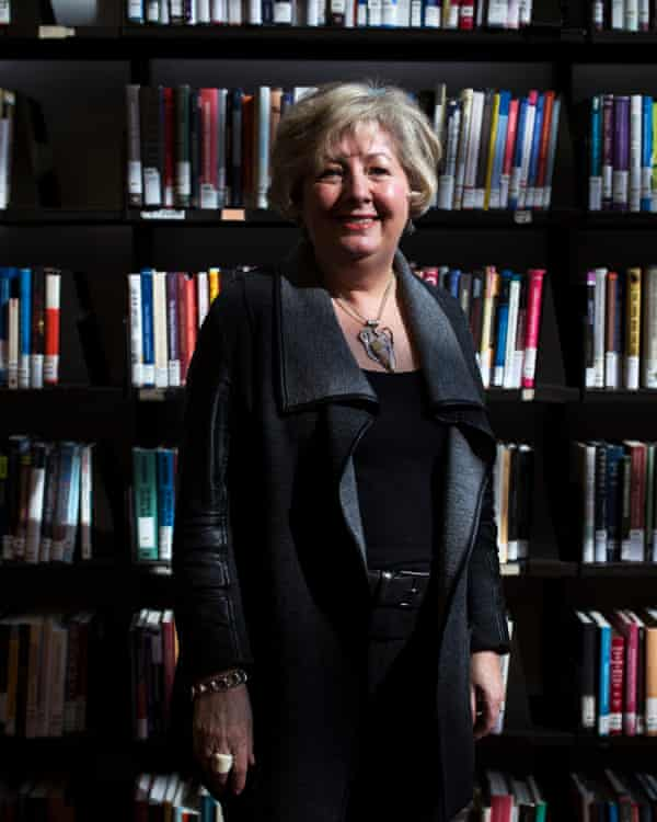 Toronto's head librarian, Vickery Bowles, at the the Toronto Reference Library. which houses a collection of over 10m books, ebooks, CDs, and DVDs in 40 languages.