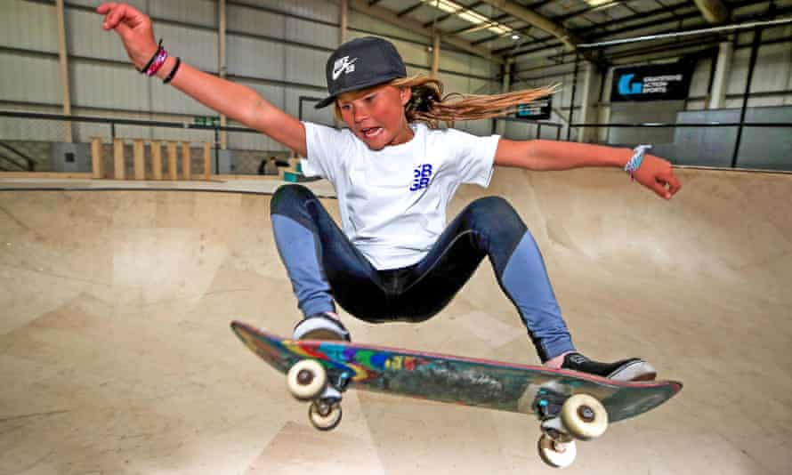 Sky Brown will be just 13 when she competes at the Olympic Games in Tokyo.