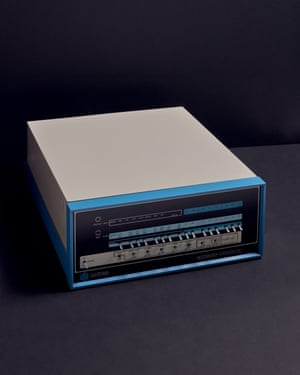 MITS Altair 8800B (1975) home computer.