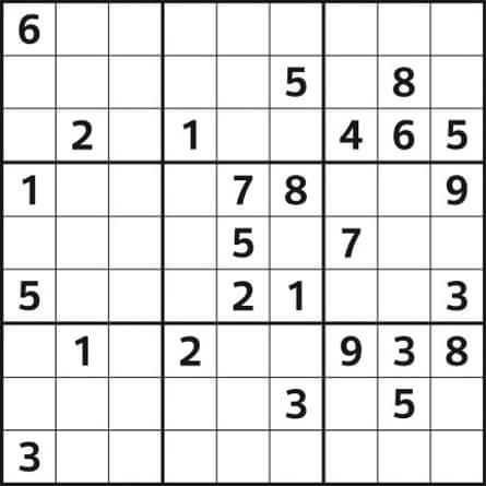 Observer sudoku