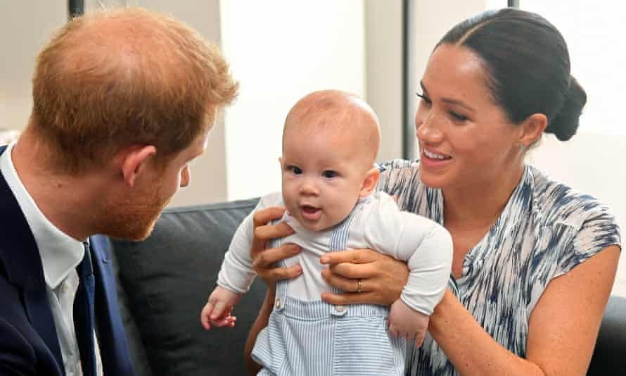 The Duke and Duchess of Sussex with their son, Archie, in 2019