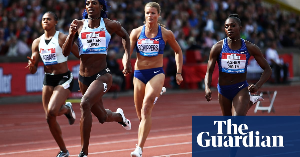 Dina Asher-Smith finishes second in Birmingham to boost Qatar hopes