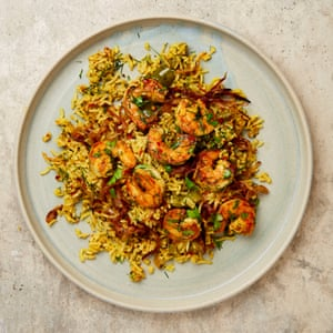 Yotam Ottolenghi's spiced rice.