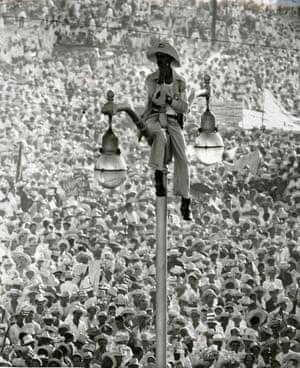 El Quijote de la Farola, Plaza de la Revolución, Cuba, 26 de julio de 1959