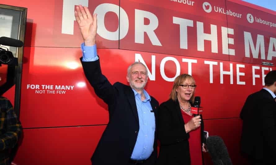 Jeremy Corbyn on the campaign trail in Rotherham