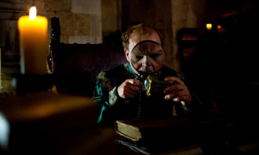 Toby Jones as the King of Highhills