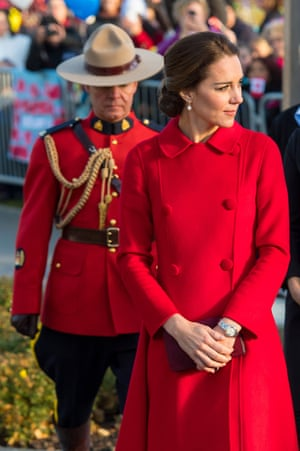 The Duchess of Cambridge in Whitehorse, Canada.