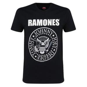 Ramones T-shirt.