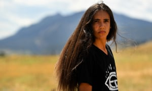 'There is so much power in our generation': Xiuhtezcatl Martinez in Boulder, Colorado.