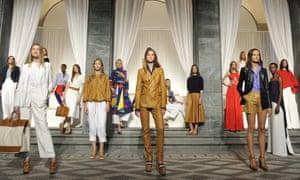 Ralph Lauren spring/summer presentation at Milan fashion week in September.